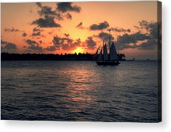 Mallory Square Key West Acrylic Prints