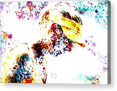 Maria Sharapova Mixed Media Acrylic Prints