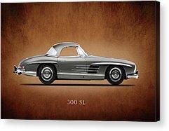 Mercedes-benz 300 Sl Acrylic Prints