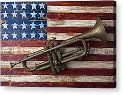 Trumpet Acrylic Prints