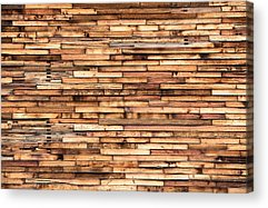 Wood Siding Acrylic Prints