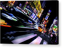 Time Square Acrylic Prints