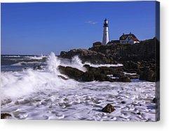 Maine Shore Acrylic Prints