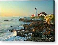 Rocky Maine Coast Acrylic Prints