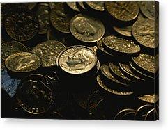 Money Acrylic Prints