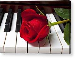 Piano Photographs Acrylic Prints