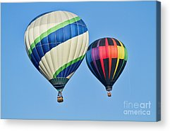 Air Balloon Acrylic Prints