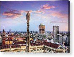 Italy Rooftops Acrylic Prints