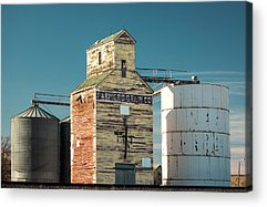 Old Rustic Building Acrylic Prints
