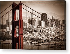 Bay Bridge Acrylic Prints