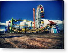 Santa Monica Acrylic Prints