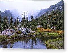 Rocky Mountains Acrylic Prints