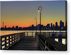 Clear Sky Acrylic Prints