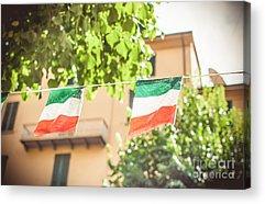 Italian Photographs Acrylic Prints