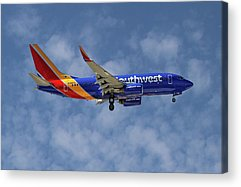 Airlines Acrylic Prints