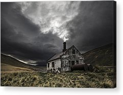 Abandoned House Acrylic Prints