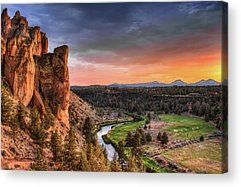 State Parks In Oregon Acrylic Prints