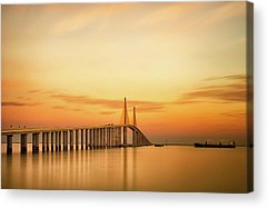 St Petersburg Florida Acrylic Prints