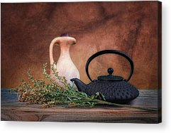 Pottery Pitcher Acrylic Prints