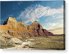 Badlands Acrylic Prints