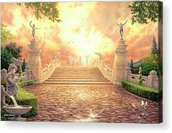 Victory Paintings Acrylic Prints