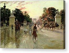 Arc De Triomphe Acrylic Prints