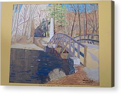 Concord Mass Paintings Acrylic Prints