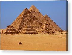 Pyramids Acrylic Prints