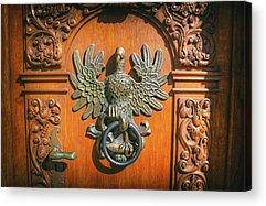Door Knockers Acrylic Prints