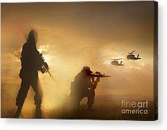 Sharpshooter Acrylic Prints