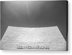 Uss Arizona Acrylic Prints
