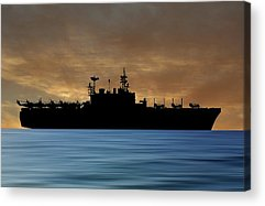 Amphibious Assault Ship Acrylic Prints