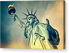 Statue Of Liberty National Monument Acrylic Prints