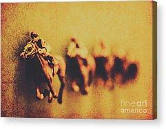 Horseman Acrylic Prints