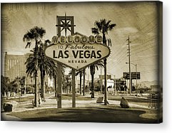Las Vegas Acrylic Prints