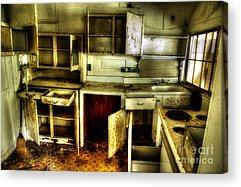 Abandoned Elkmont Acrylic Prints