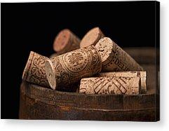 Wine Barrel Acrylic Prints