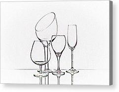 Wine Service Photographs Acrylic Prints