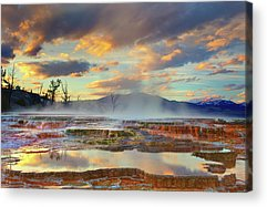 Yellowstone National Park Acrylic Prints