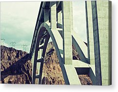 Physical Features Acrylic Prints