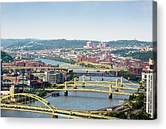 Allegheny Mountains Acrylic Prints