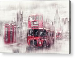 Houses Of Parliament Acrylic Prints