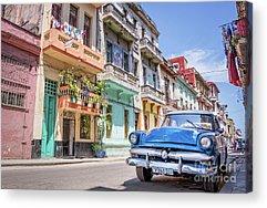 Cuba Acrylic Prints