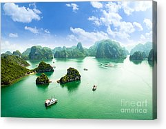 Geographical Acrylic Prints