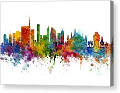 Milan Acrylic Prints