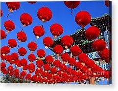 Asian Culture Acrylic Prints