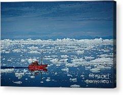 Ice Floes Acrylic Prints