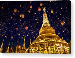 Burma Acrylic Prints