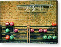 Ten Pin Bowling Acrylic Prints