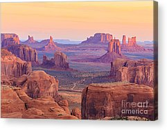 Monument Valley Navajo Tribal Park Acrylic Prints